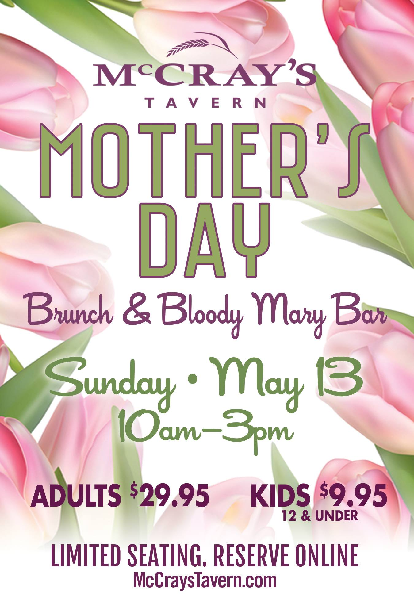 Taverns in Smyrna | Vinings Bar & Grill | Sunday Brunch Menu