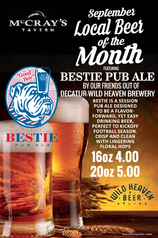 local beer of the month | september