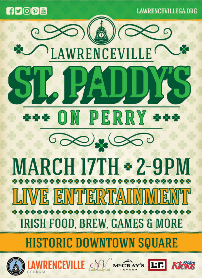 St Paddays day on perry