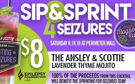 sip and sprint for seizures