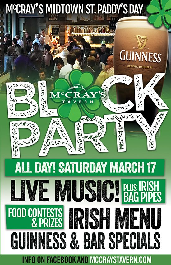 ST Patricks day block party